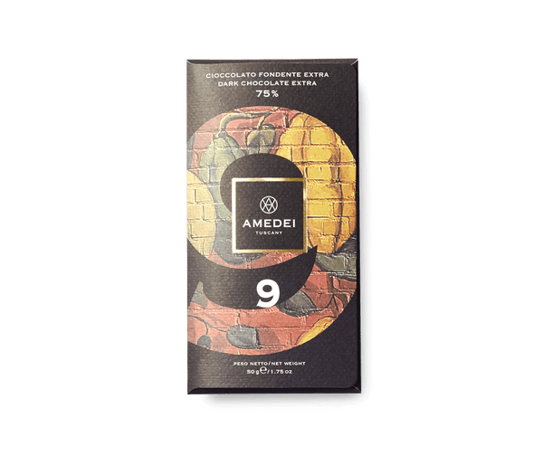 "Amedei NERI - ""9"" Dark Chocolate Bar 75%"