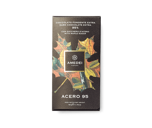 Amedei NERI - Acero95 - Dark Chocolate Bar 95%
