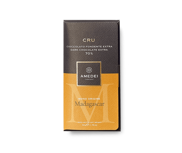 Amedei Amedei CRU Madagascar - Dark Chocolate Bar 70% | METAGROUP Limited