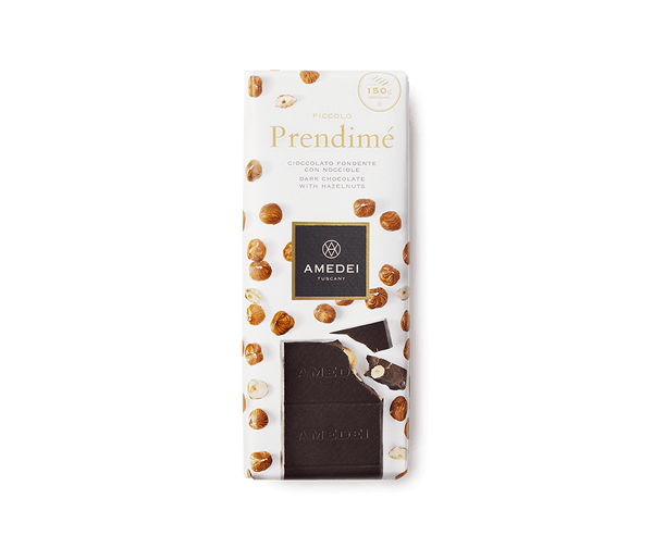 Amedei PRENDIME - Dark Chocolate Bar with Hazelnuts