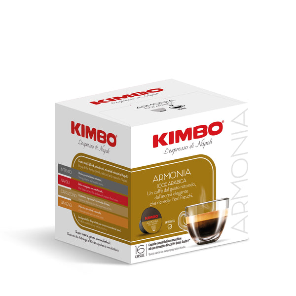 Kimbo Armonia Dolce Gusto Compatible Capsules