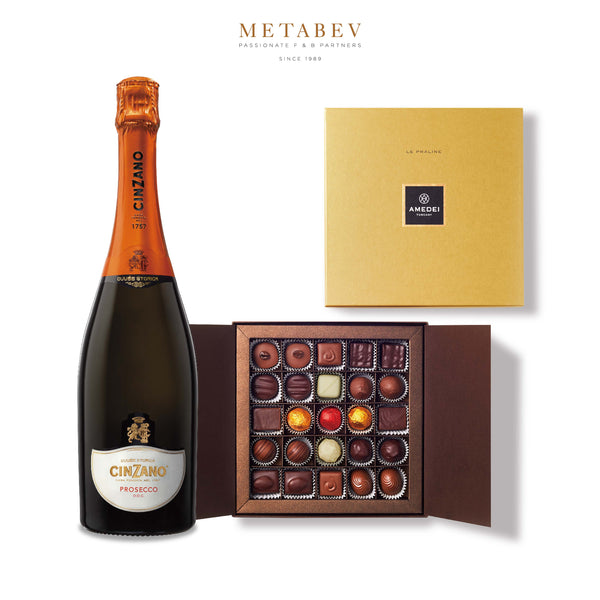 Cinzano Cinzano Prosecco & Amedei Chocolate Pairing | METAGROUP Limited