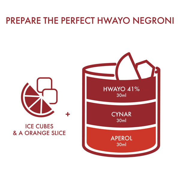 Hwayo Negroni DIY Kit