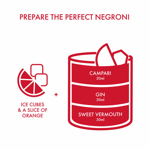 Campari NEGRONI DIY KIT Gift Box | METAGROUP Limited