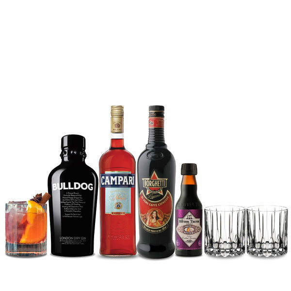 Campari WINTER NEGRONI DIY KIT with Riedel Glasses | METAGROUP Limited