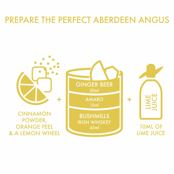 ABERDEEN ANGUS DIY KIT with Riedel Glasses