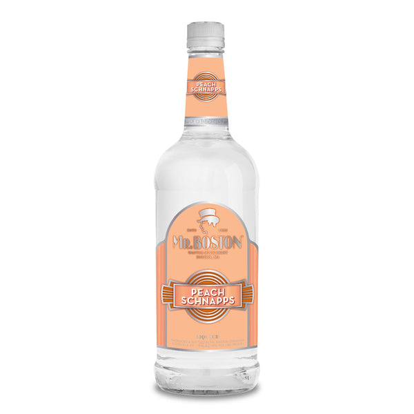 Mr. Boston Peach Schnapps Liqueur
