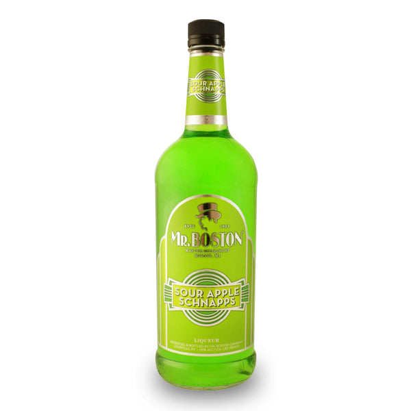 Mr. Boston Sour Apple Schnapps Liqueur
