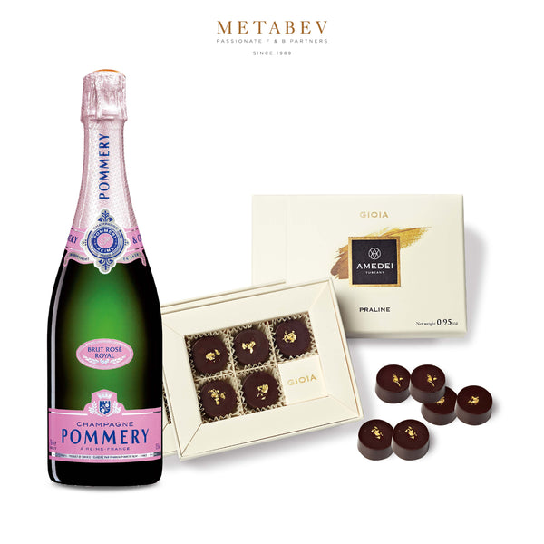 Pommery Champagne & Amedei Chocolate Pairing