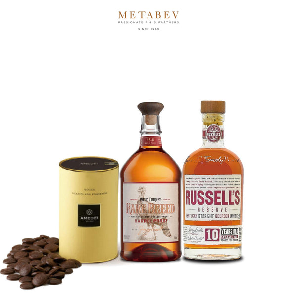 Wild Turkey Wild Turkey Bourbon & Amedei Truffles Pairing Set | METAGROUP Limited