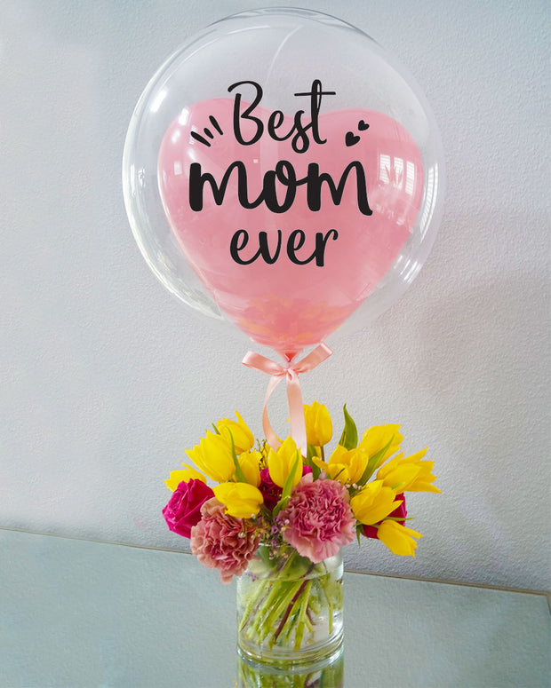 Best Mom Ever Bouquet - Medium
