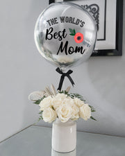 The World's Best Mom Bouquet - Small