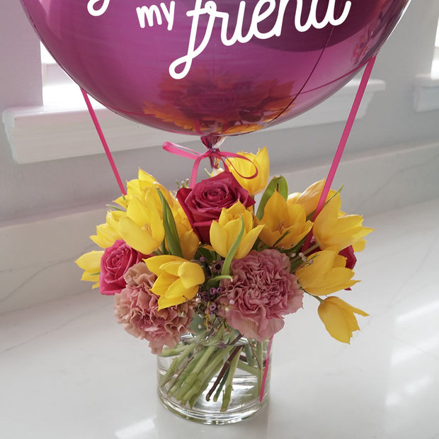 First my Mom, Forever my Friend Bouquet - Medium