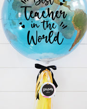 Best Teacher World Bubble