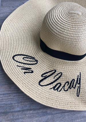On Vacay Floppy Hat