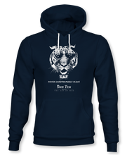 Load image into Gallery viewer, Devise Unfathomable Plans. ~ Sun Tzu: The Art of War, Hoodie, Unisex, Midnight Navy