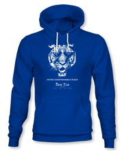Load image into Gallery viewer, Devise Unfathomable Plans. ~ Sun Tzu: The Art of War, Hoodie, Unisex, Royal