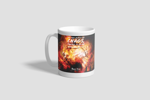 """In The Midst Of Chaos, There Is Also Opportunity"" ~ Sun Tzu, The Art of War, Knight's Gloves, Mug (11 oz.)"