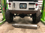 JK Rear Frame Chop Bumper Weld Up Kit (With Hitch)