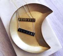 Load image into Gallery viewer, The Sunset Bar Necklace: Feminist