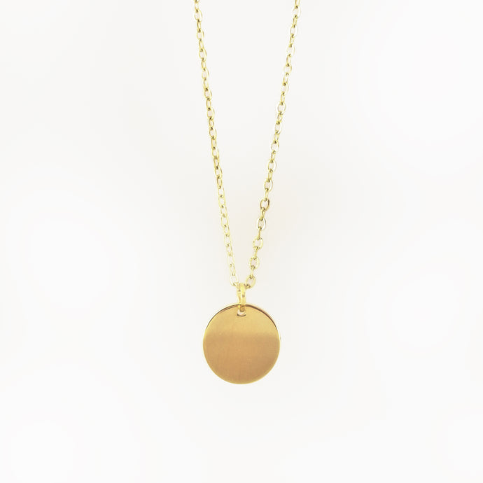 The Ella Pendant - Gold