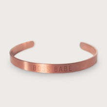 Load image into Gallery viewer, Petite OG Cuff: Boss Babe