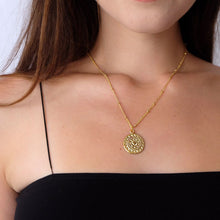 Load image into Gallery viewer, Sun Medallion Necklace