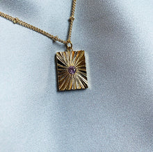 Load image into Gallery viewer, Square Medallion Necklace