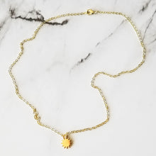 Load image into Gallery viewer, Sun Charm Necklace
