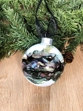 Load image into Gallery viewer, #8 - Holiday Hand-Painted Alcohol Ink Ornament