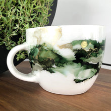 Load image into Gallery viewer, #6 - Alcohol Ink Hand-Painted Coffee Mug