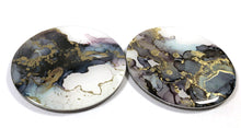 Load image into Gallery viewer, Joy - Alcohol Ink Coasters -