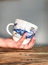 Load image into Gallery viewer, B - Alcohol Ink Hand-Painted Coffee Mug