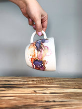 Load image into Gallery viewer, D - Alcohol Ink Hand-Painted Coffee Mug