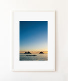 """Sunrise Paddle at Lanikai"" Print"
