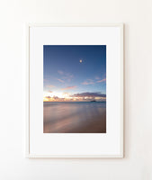 """Perfect Morning in Waimānalo"" Print"