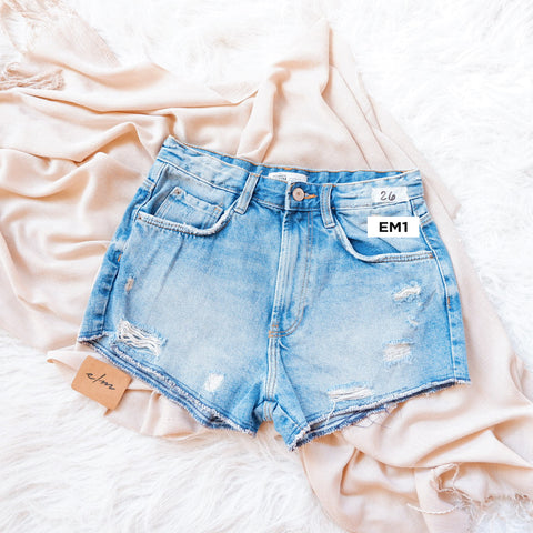 Limited Zara Frayed Shorts