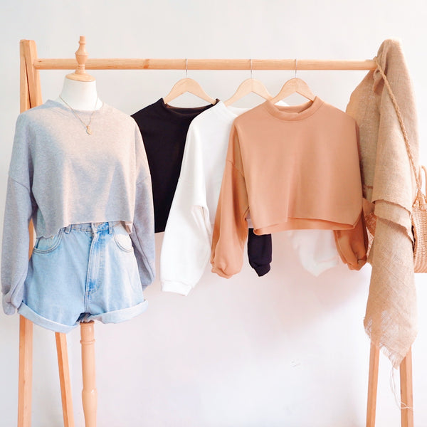 Baggy Cropped Sweater