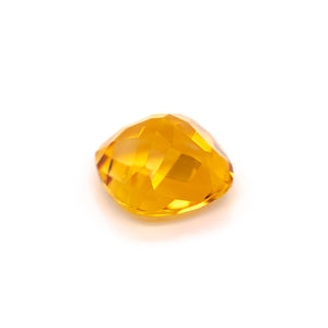 12mm Cushion Chequerboard Citrine (CICU12CB)