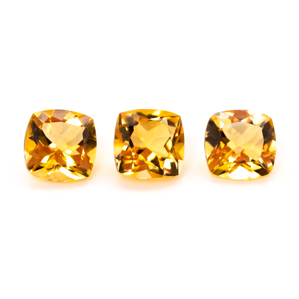6mm Cushion Citrine (CICU60)