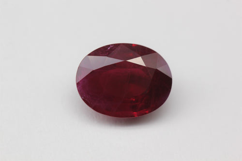 9.1x7.1mm Oval Ruby (RUV97BP)