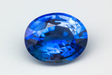 [SOLD] 7.72x6.23mm Oval Ceylon Sapphire Certificated (SACV86G)