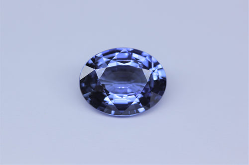 9.17x7.20mm Oval Ceylon Sapphire Certificated (SACV97GB)