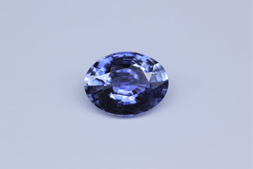 8.93x6.84mm Oval Ceylon Sapphire Certificated (SACV97GC)
