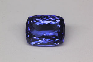 9.3x7.2mm Cushion Tanzanite (TACU97)