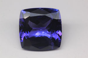 13.7x13.7mm Cushion Tanzanite (TAMX15)