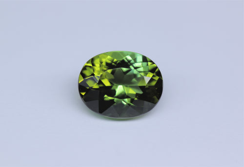 10x8mm Oval Green Tourmaline (TOGV108A)