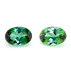 7x5mm Oval Green Tourmaline (TOGV75A)