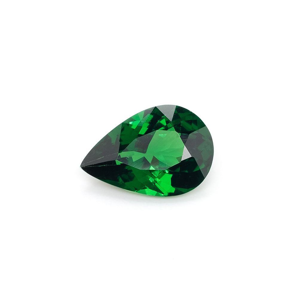8.8x6mm Pear-Shaped Tsavorite Garnet (TSMP7586GM)