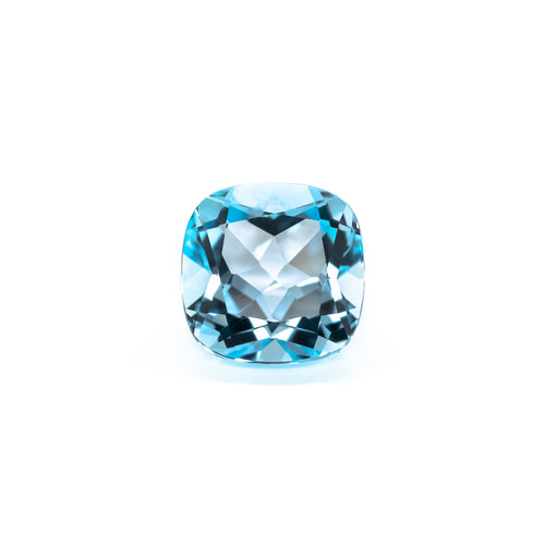 10mm Cushion Sky Blue Topaz (TZCUSK10)